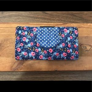 Handbags - Cash Envelope System Wallet   Rifle Paper Co print